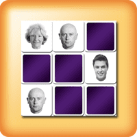 Juego de Memoria con caras para personas mayores